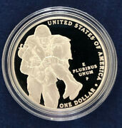 2011 P Medal Of Honor Us Commemorative Silver Dollar Ogp Everything Immaculate