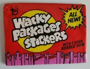 1976 Vintage Wacky Packages Series 16 Unopened Red Pack @@ Super Rare @@