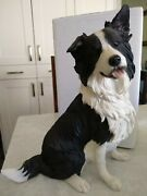 Country Artists' Border Collie Dog Figurine