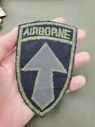 Vietnam War Us Army 2nd Field Force Airborne Theater Made Patch