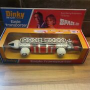 Dinky Toys 359 White Eagle Transporter Space 1999 Itc Gerry Anderson Tv Restored