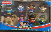 New Fisher Price Little People Three King's Celebration Exclusive Christmas