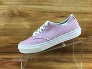 Off The Wall Womens Rose Blush Knit Casual Shoes Ladies Size 8.5 Excellent