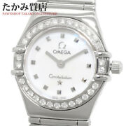 Omega Constellation My Choice Mini 1465.71 Ladies From Japan N0919