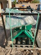 Wood Chipper 4 Capacity Pto Drive Tmg Brand Green Color New Never Used