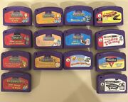 14 Leappad Leap Frog Game Cartridges Pre Leap Start 1 2 Reading Mathandspider-man