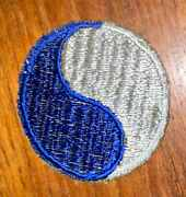 Wwii 29th Infantry Division Patch 2-1/4 Diameter