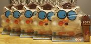 Tootsie Pop Collectible Mr. Owl Container Lot Of 5 Funko