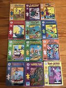 Complete Set 1967 Big Little Book Jigsaw Puzzle's All Puzzle Boxes Nice Shape.
