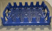 Lot Of 10 Pepsi-cola Bottle Carrier Caddy Blue Plastic Crates Holds 24-20oz Soda