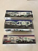 Hess Collectible Toy Trucks Lot Of 3 Batteries Not Included 1988 1998 2003