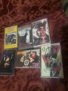 Stray Cats Brian Setzer Cassette Lot Blast Off Rock Therapy Choo Rant Knife Live