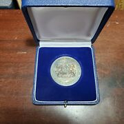 Silver Bavarian State Ministry Of Economics German Award Medal For Special Merit