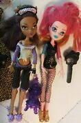 Monster High Doll Clawdeen Wolf 13 Wishes And Scaremester Gigi Grant Doll And Bonus