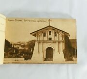 Vintage California Postcards Booklet Photos Of California Missions 24 Cards