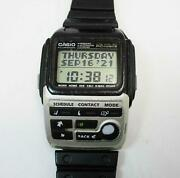 Vintage Casio Bzx-20 Pc Unite Watch Module 1910 + Userand039s Guide Tested And Working