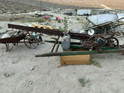 Rm Wade Circa 1915-1938 Antique Gas Powered Drag Saw. Complete