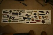 55 Fifty Five Emblems Dealer Tags Chrome Black Gold Limited Edition Rare