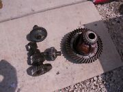 Allis Chalmers Wd Wd45 45 Ac Tractor Matched Set Transmission Drive Gears Pinion