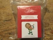 Hallmark 2021 -north Pole Tree Trimmer Repaint Club Koc Sold Out