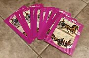 Lot Of 10 Nos 1960s Meyercord Horse And Buggy 1517e