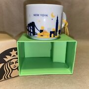 Starbucks 'you Are Here' Collection, New York, Demi Mug Ornament Discontinued