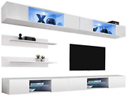 Meble Furniture And Rugs Fly I3 33tv Wall Mounted Floating Modern Entertainment Ce