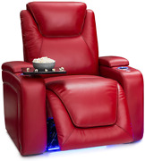Seatcraft Equinox - Home Theater Seating - Top Grain Leather - Power Recline - P