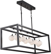 Artcraft Ac6603 Transitional 11 Light Island Pendant From Massey Collection In B