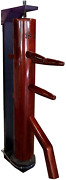 Warrior Martial Art Supply Wing Chun Dummy With Recoil Reaction Stand