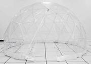 Sonostar Hub Standard All Weather Bubble Glamping Dome Shelter For Dining Pod P