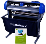 28-inch Uscutter Titan 2 Vinyl Cutter/plotter With Stand Basket And Design And
