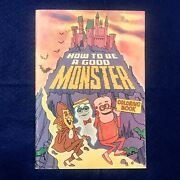 Vintage 1974 Monster Cereal Coloring Book Unused Count Chocula Franken Berry Boo
