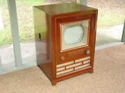 Vintage Classic 1954 Rca Model Ct-100 Collectible First Mass-produced Color Tv