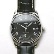 Longines Master Collection L2.908.4.51.7 Automatic Stainless Menand039s Watch [u0920]