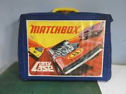 Vintage Matchbox 1971 Carry Case With 41 Mainly Emergency Vehicles