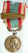 1958 France North Africa Service 1952-64 Old Military French Ribbon Medal I91931