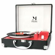 Record Player Portable Mini Suitcase Turntable For 7 Inch Vinyl Record Belt-d...