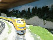 Kato 176-5315 N Scale Union Pacific E9a Rd944 And 3 Bachmann Smoothside Cars ,dcc