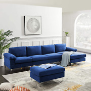 Convertible Sectional U-shaped Sofa Couch Modern Sectional Sofa Sets With Solid