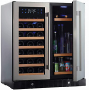 N'finity Pro Hdx By Wine Enthusiast Wine And Beverage Center – Holds 90 Cans And 35
