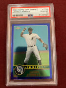 Miguel Cabrera 2003 Topps Chrome Traded Rookie Card Rc Psa 10 Gem Mt Tigers