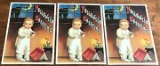 Three Vintage Halloween Greeting Postcards With Black Cat And Ghost Stories