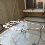 Old School Vintage 80s Mongoose Californian 20 Cr-mo.looptail Bmx Frame