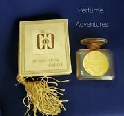 Le Tabac Blonde Caron With Original Box Collectible Antique Perfume Bottle