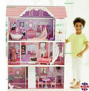 Luxury Manor House Large Wooden Doll House Magical Mimi 117.5cm High |rrp £165