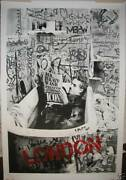 Mr Brainwash - And039chaplin In A Bathand039 - Ultra Rare Large Limited Edition Print