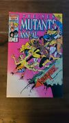 The New Mutants Annual 2 First Appearance Of Psylocke