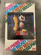 Mickey Mouse 1970s Rotary Phone Brand New Sealed In Original Box