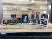 Vintage New Old Stock 1998 Coca Cola Music Boxes And Christmas Ornaments 11 Pieces